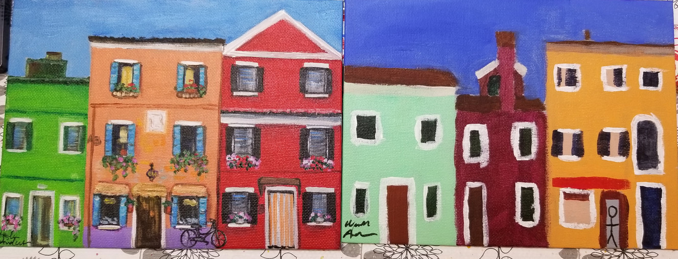 Colorful Houses (Mark)