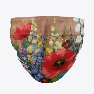 Poppy Garden Face Mask