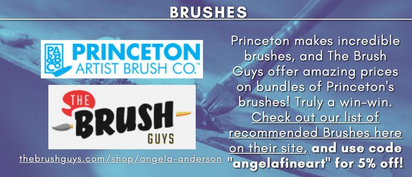 Princeton Brushes from The Brush Guys