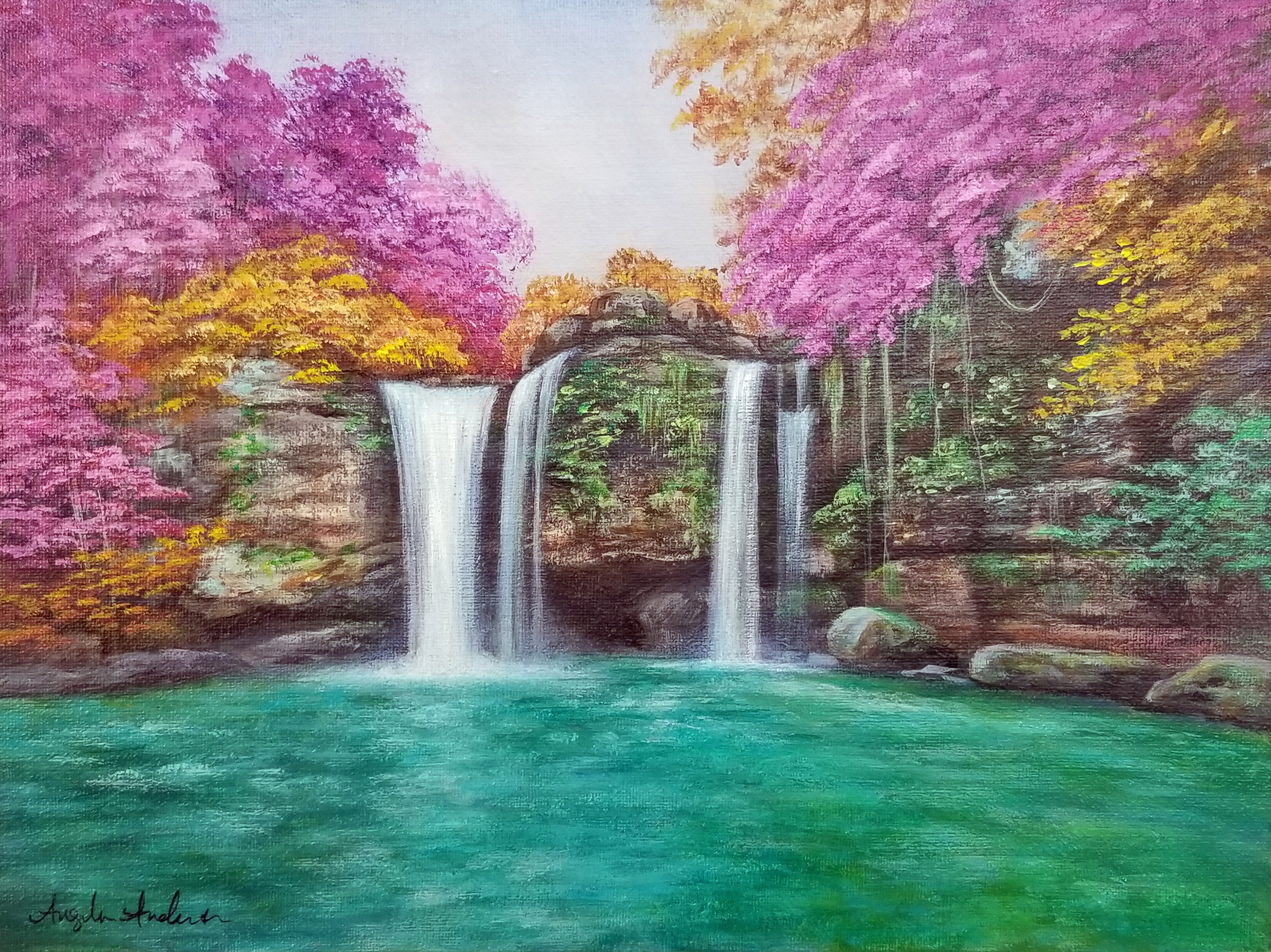 Colorful Waterfall (Bonus Video)