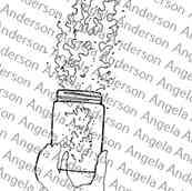 Galaxy Mason Jar