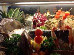 La vetrina del pescato