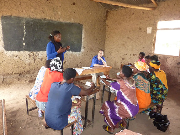 Focus group held by Progressive Health Partnership in southwestern Uganda