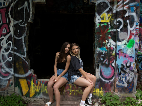 Our shoot in a abandoned town | NYC Farm Colony | NYC Photographer | Staten Island Photographer