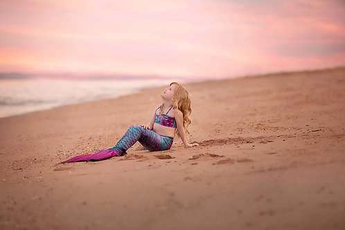 Add one child/family member to a mermaid mini session