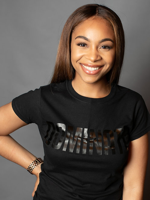 Black on Black Classic Dominate T-shirt