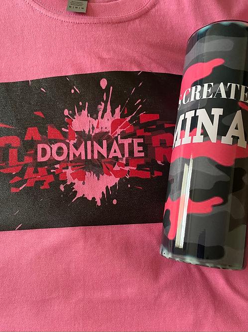 Dominate Cancer T-shirt
