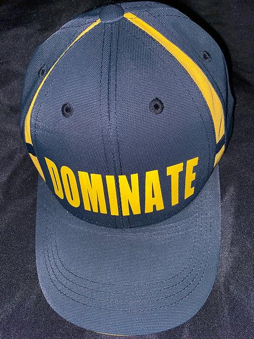 DOMINATE Hat w/Colorblock Insert