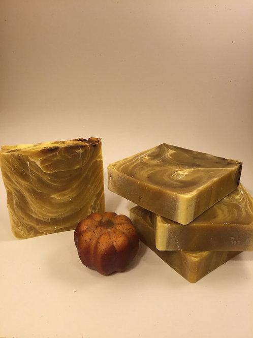 Pumpkin and Brown Sugar Soap