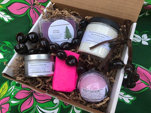 Hawaiian Plumeria Gift Box Set