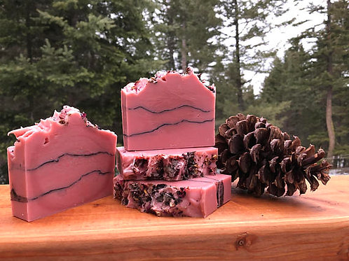 Rose Clay and Charcoal Soap