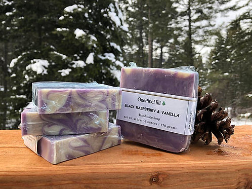 Black Raspberry and Vanilla Soap