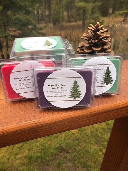 Trees & Spices Christmas Wax Melt Set