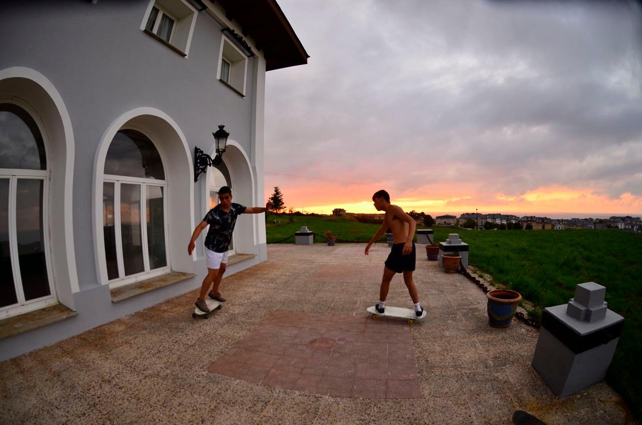 Amplios espacios para surfskate