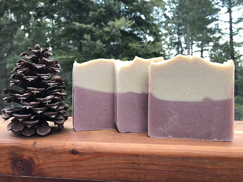Lilac Cold Process Soap