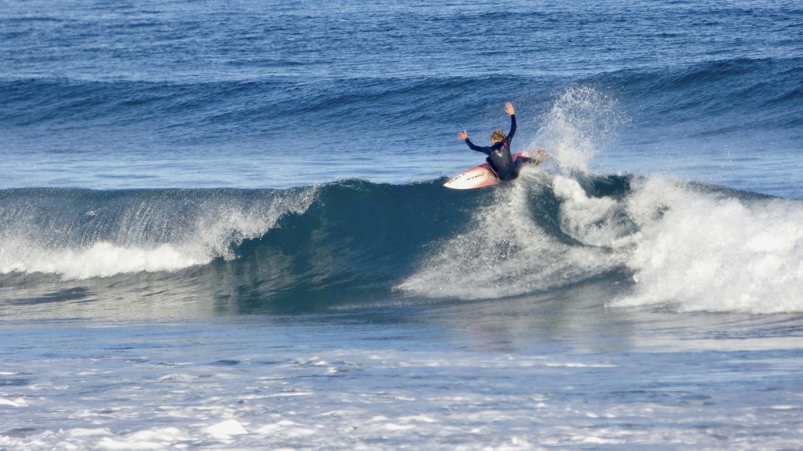 surf day Frejulfe beach