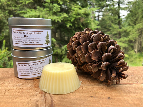 White Tea and Ginger Lotion Bar