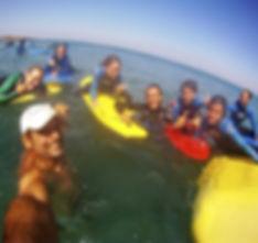 Escuela de surf en Navia