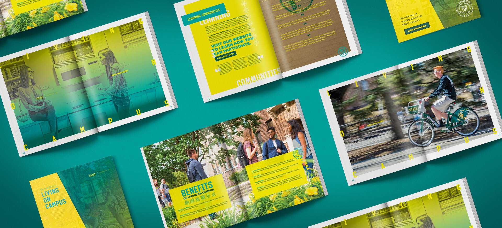 Living on Campus Brochure
