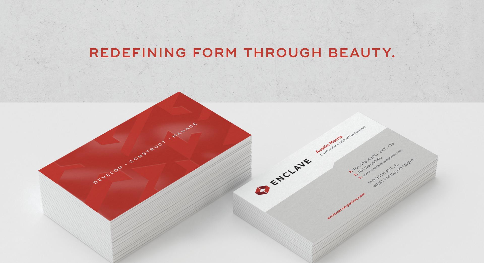 Enclave business cards