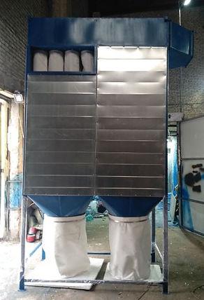 Система аспирации ФР-10. Цена 168000р. 10 000м3 в час, аспирация деревообработка, фильтровальная установка для деревообработки, аспирация пыли, аспирация стружки