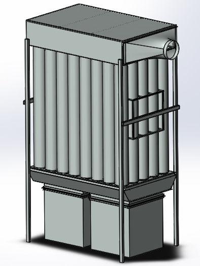 Рукавный фильтр ФР-10