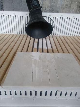 Пошкурочный стол с аспирацией