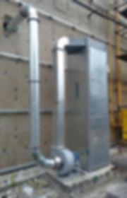 фильтровальная установка пыли