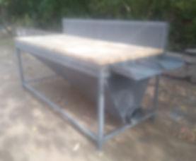 шлифовальный аспирационный стол