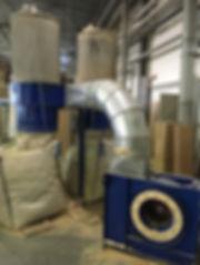 аспирация бу, пылеудаляющий агрегат, рукавный фильтр, аспирация для деревообработки, фильтроциклон, фильтр аспирации, установка аспирации, фильтр фри, Бункер  циклон,