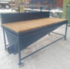 Шлифовальный пошкурочный стол