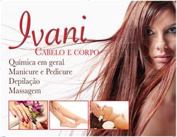 Banner Ivani cabelo e corpo