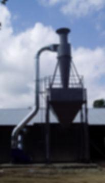 Бункер для стружки, аспирация для деревообработки, рукавный фильтр, система аспирации. пылевой вентилятор, циклон для опилки, вытяжка опилки