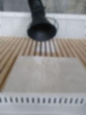 Вытяжка на шлифовальном столе
