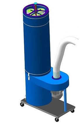 Пылеулавливающий агрегат ВУМ-1200Р(УВП-1200А), вытяжка от заточного станка, вытяжка абразивной пыли, стружкоотсос, система аспирации