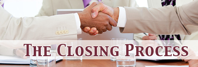 Home buying process - The closing process
