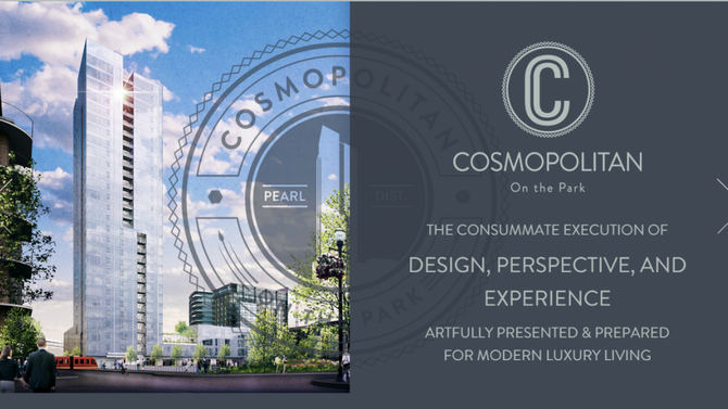 Cosmopolitan On The Park ~ Property of the Week