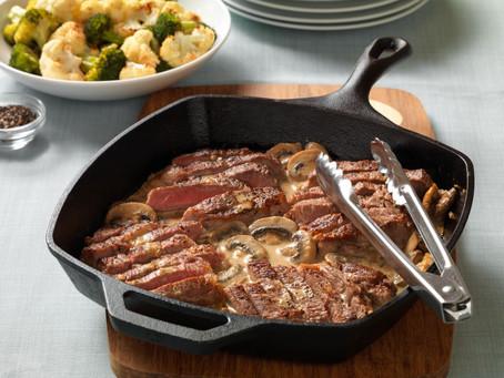 Easy Dinner Recipe: Easy Steak Diane
