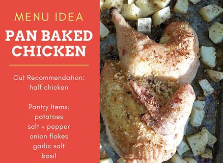 Pan Roasted Chicken & Potatoes
