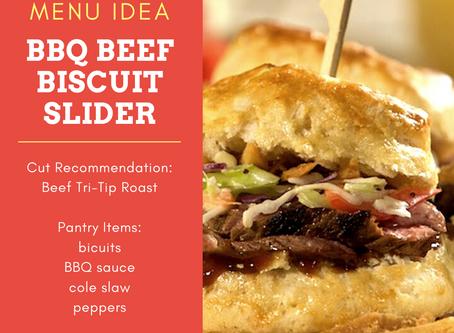 BBQ Beef Slider Biscuit RECIPE!