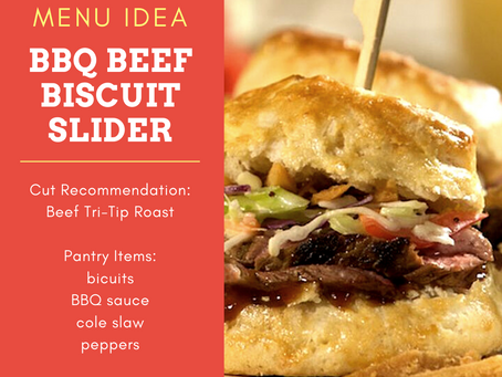 BBQ Beef Slider Biscuit RECIPE!