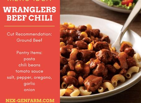 Wranglers Beef Chili