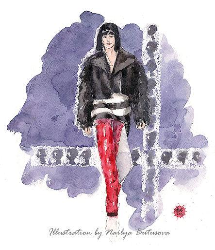 artnailya наиля бутусова mbfwrussia fashionillustration