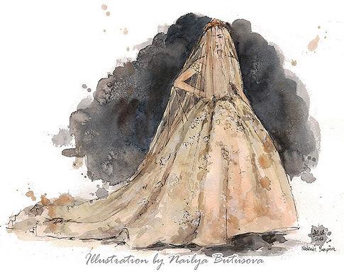 fashionillustration artnailya mbfwrussia наиля бутусова