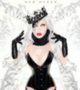 Elena Vladi, red queen, demona mortiss