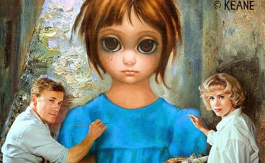 большие глаза, тим бертон big eyes