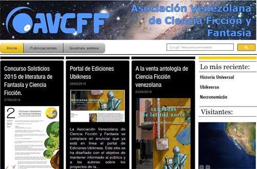 Portal actual de la AVCFF (2016)
