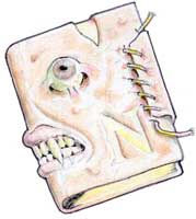 Necronomicón: concepción del libro innominable por William Trabacilo