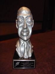Busto del atormentado genio de Providence: H. P. Lovecraft