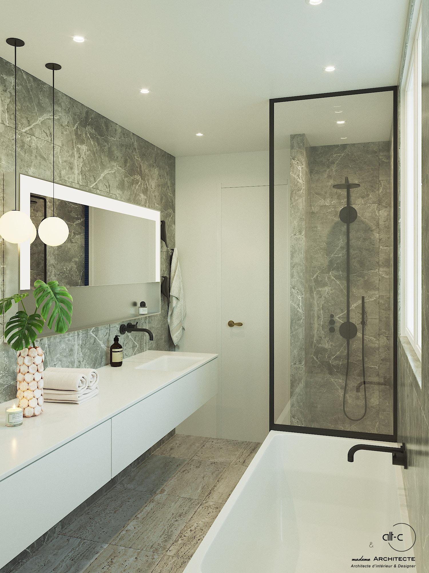 Salle de bain Hôtel particulier